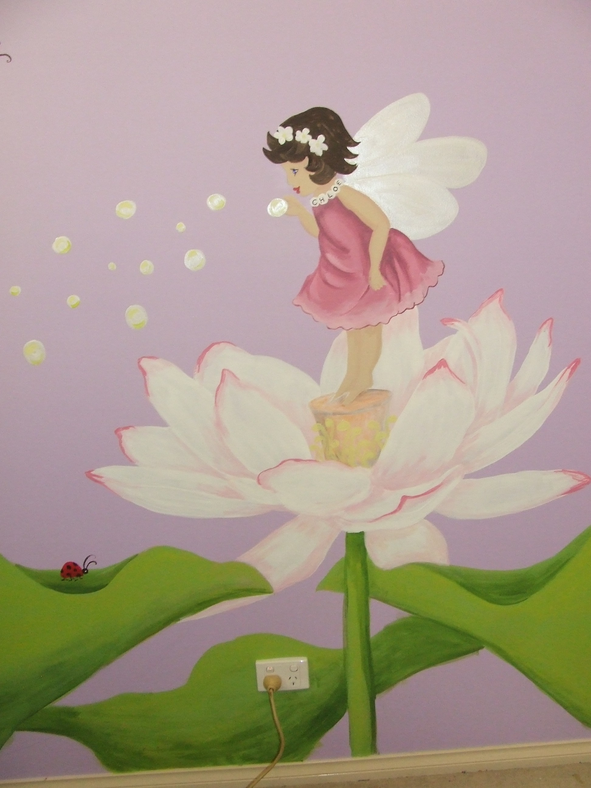 Chloes Lotus Fairy Karen Bailey Studio