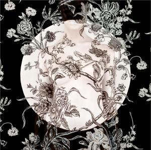 Black Carnation Mandala