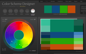 Colour Wheel accented anologic