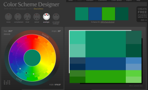 Colour Wheel anologic