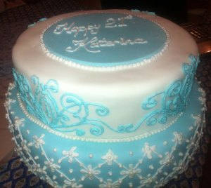 Katie's 21st Cake