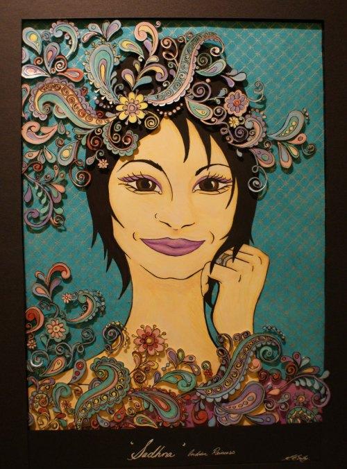 Sadhna's Portrait