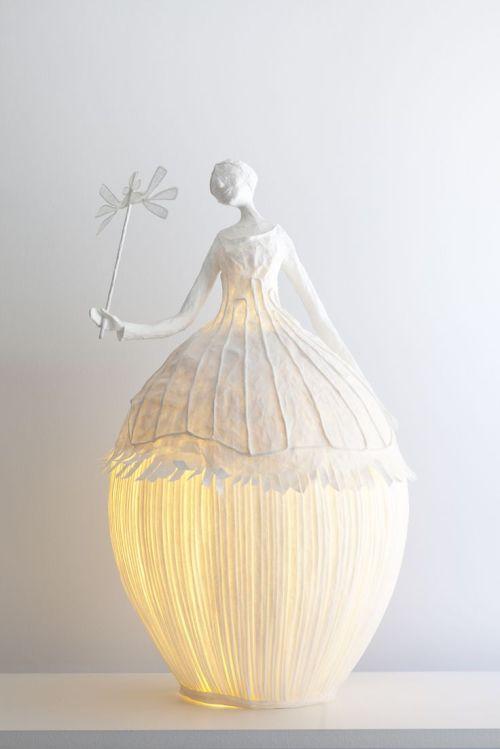 Giselle, réalisée pour la galerie de l' Opéra Garnier, 2009 (hauteur 65 cm)