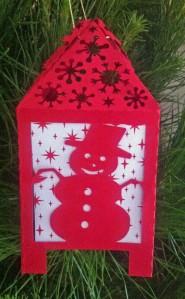 Christmas Lantern Santa Dec 2013