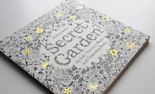 The Secret Garden Book by Johanna Basford
