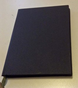 The basic book before I reworked it.
