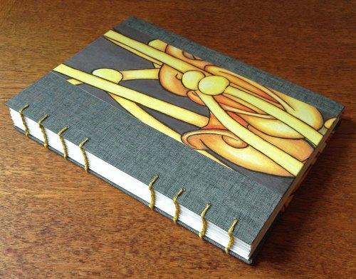 Yvette's Coptic Bound Book