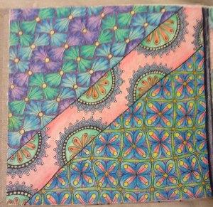 Journal Page with Pattern