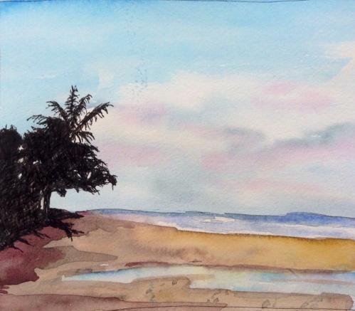 Seminyak Beach Sunrise Left