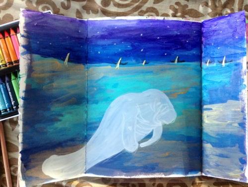 Manatee Page Bali Journal